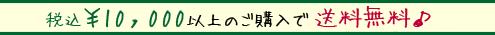 10000円以上ご購入で送料無料!!